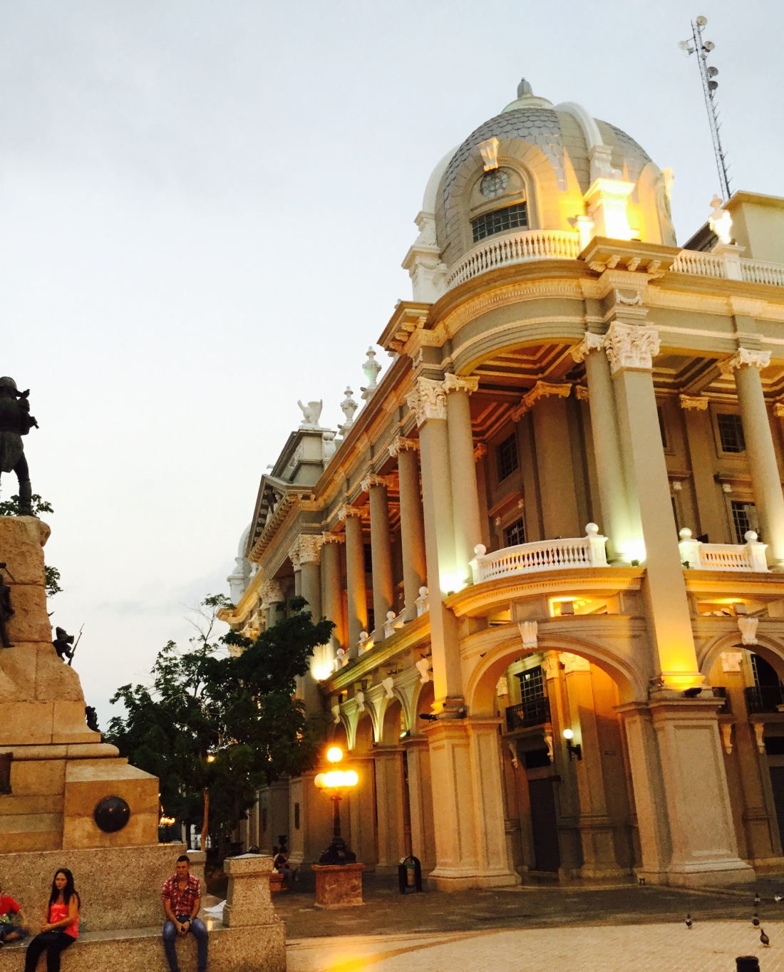 Evening light in Guayaquil