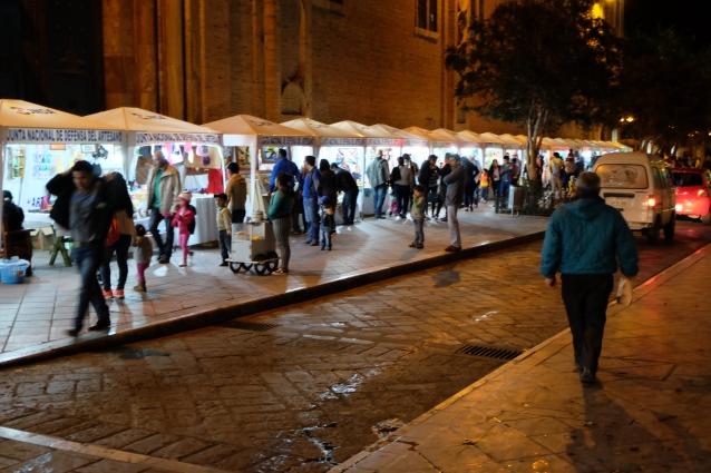 Plaza de las Flores markets