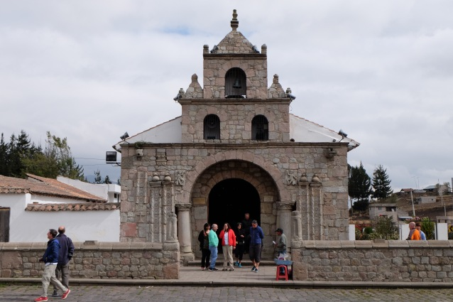 First Roman Catholic church in Ecuador - at Balbanera