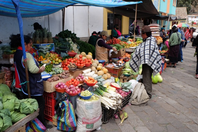 Guamote market day