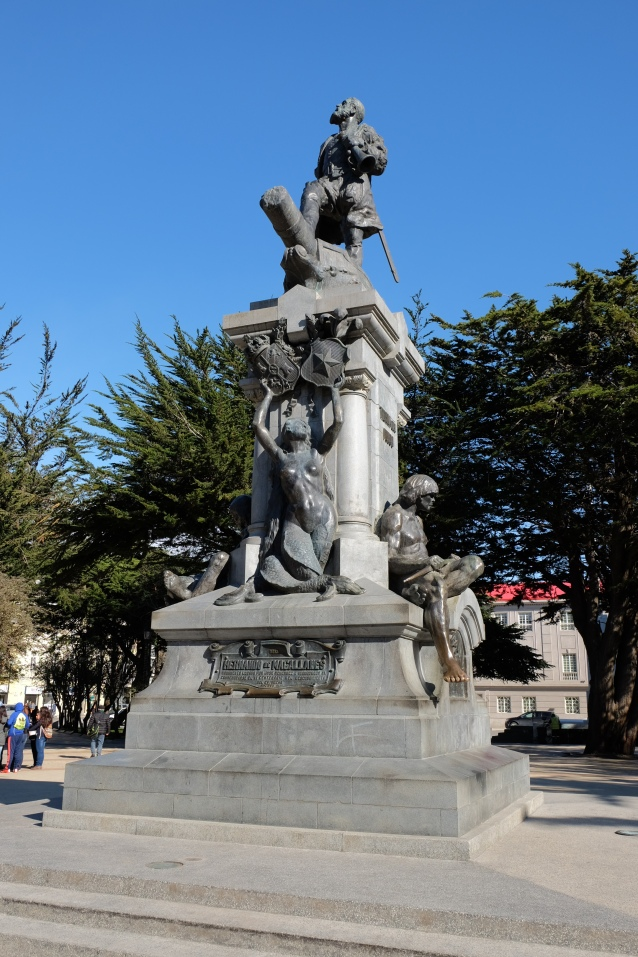 Central square Punta Arenas