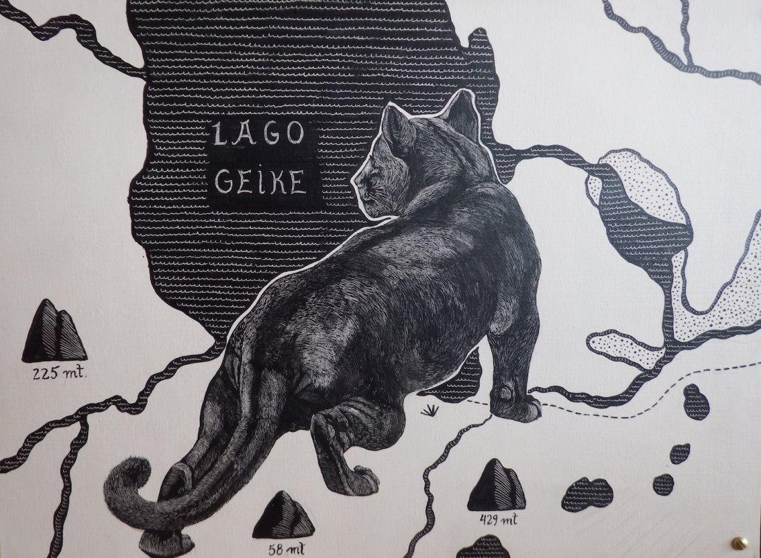 Puma etching